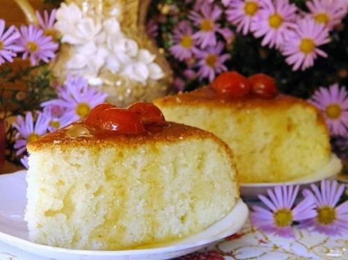 кекс на кефире рецепты в духовке