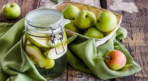 компот из целых яблок рецепт