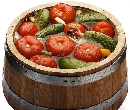 помидоры бочкового посола