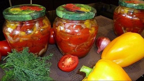 помидоры по-чешски