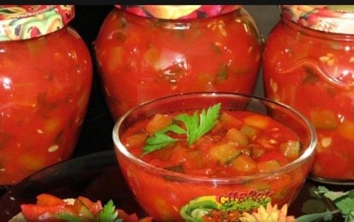 салат Манжо на зиму рецепт