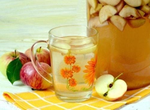 яблочный компот на зиму лучшие рецепты