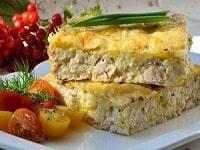 запеканка из кабачков с куриным фаршем рецепт