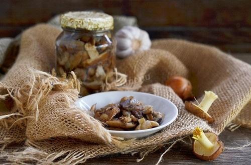жареные маслята на зиму рецепт