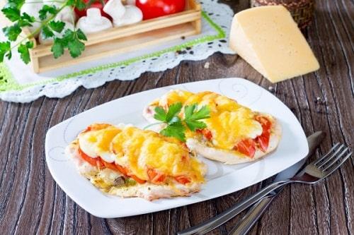 филе курицы с картошкой в духовке рецепт-min