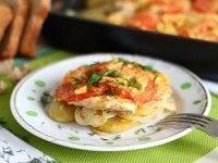 как приготовить филе курицы с картошкой в духовке-min