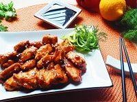 как приготовить курицу теряки с овощами-min