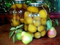 как заготовить компот из яблок и груш