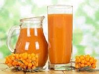 как заготовить сок из облепихи на зиму-min
