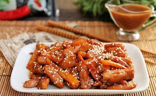курица в соусе Терияки рецепт-min