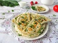 кутабы с зеленью и сыром рецепт-min