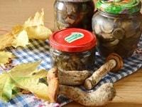 маринованные подосиновики на зиму рецепты