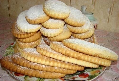 молочные коржики рецепт по ГОСТу-min