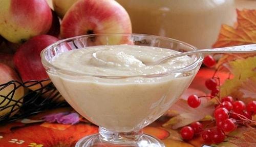 пюре из яблок рецепт со сгущенкой