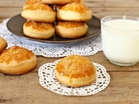 рецепт молочных коржиков-min
