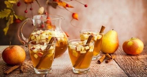 рецепты компота из яблок и груш на зиму