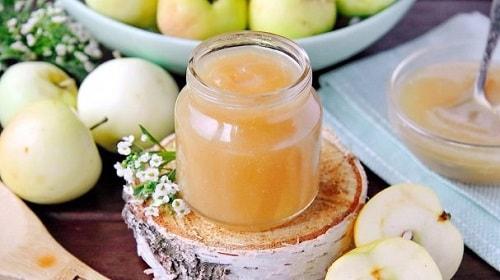 яблочное пюре Неженка со сгущенкой