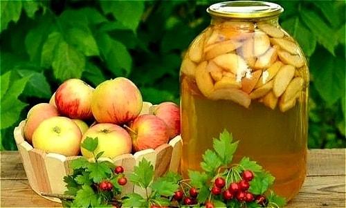 яблочный компот рецепт с грушами