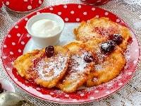 Пышные оладьи с яблоками на кефире - лучшие рецепты