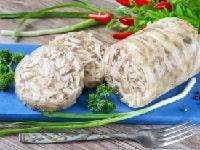 Куриный рулет в бутылке - домашние рецепты с желатином, овощами, грибами