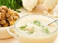 как приготовить суп-пюре из цветной капусты
