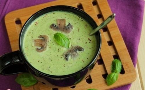 как сварить суп-пюре из брокколи