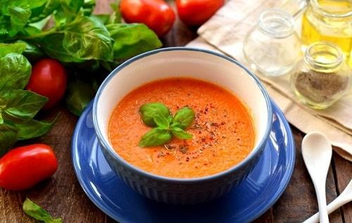 как варить суп из томатов