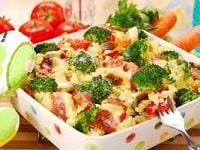 капуста брокколи в духовке с сыром