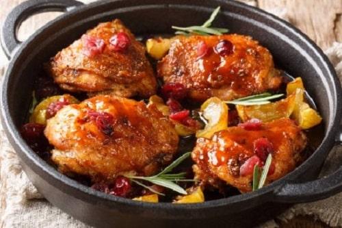 куриные бёдра на сковороде рецепт