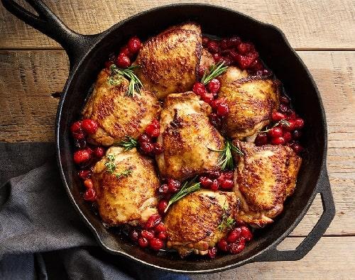 куриные бёдра на сковороде с корочкой