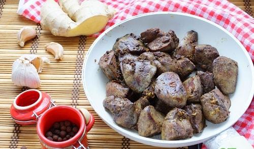 печень индейки на сковороде рецепты