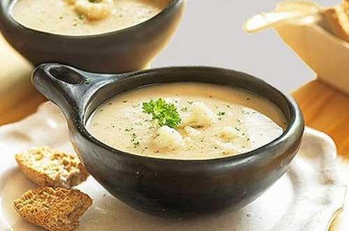 суп-пюре из цветной капусты рецепты