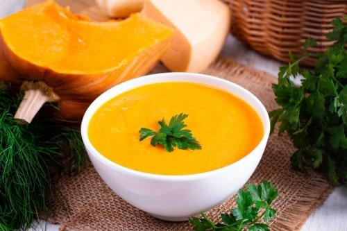 тыквенный суп-пюре рецепты приготовления-min