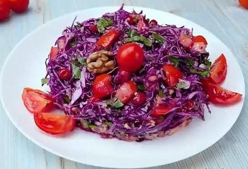 Салат из красной капусты рецепты