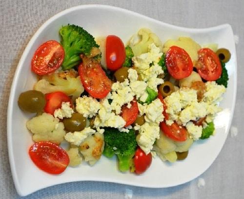 как приготовить салат из цветной капусты