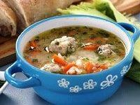 как варить суп с фрикадельками и рисом