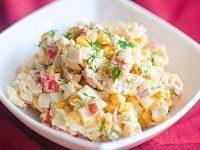 крабовый салат без майонеза рецепт