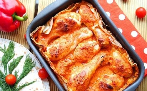 куриные ножки в соевом соусе в духовке