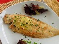 морской язык в духовке рецепт