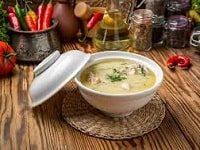 сырный суп с курицей из плавленых сырков