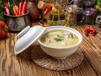 Сырный  суп с курицей из плавленных сырков - рецепты с грибами, картошкой, вермишелью