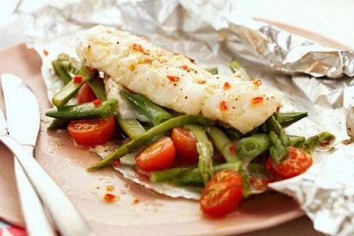 треска с овощами рецепты