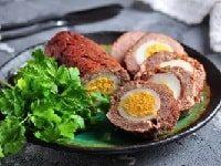 как приготовить мясной рулет с яйцом