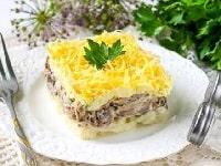 как приготовить салат мужской каприз