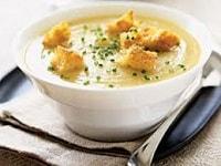 Картофельный суп-пюре - рецепты со сливками, гренками, грибами, курицей