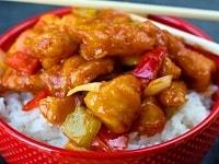 Курица с овощами в кисло-сладком соусе - рецепт в домашних условиях