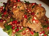 Курица в гранатовом соусе в духовке - рецепт вкусного маринада