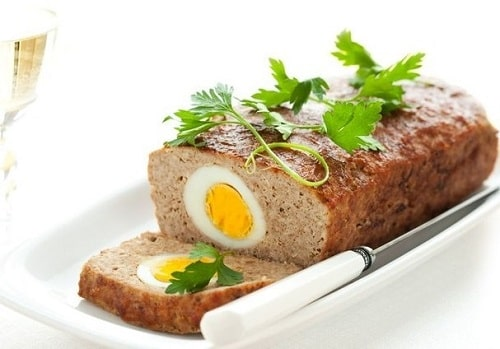 мясной рулет с яйцом рецепты