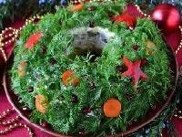 салат новогодний венок рецепт