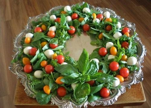 салат новогодний венок рецепты
